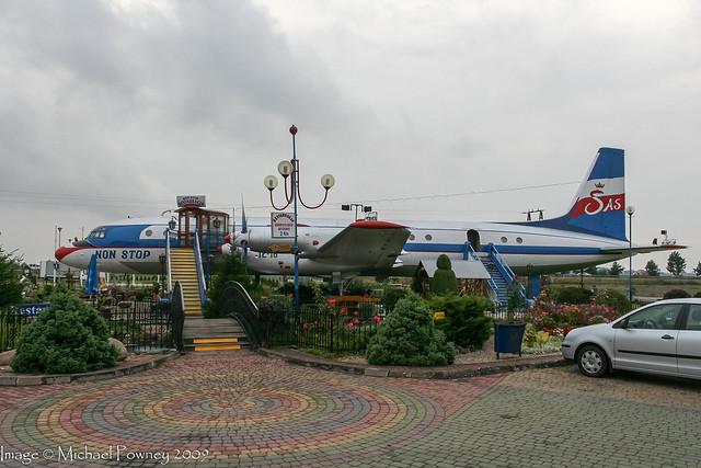 SP-LSD - 1964 build Ilyushin IL-18V, now used as a Restaurant at Koscielec
