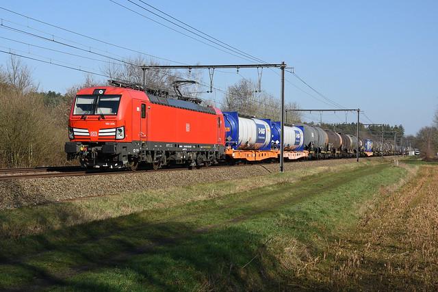 193326 DB + 47562 (Ludwigshafen - Antwerpen Noord), Langdorp, 02/03/2021