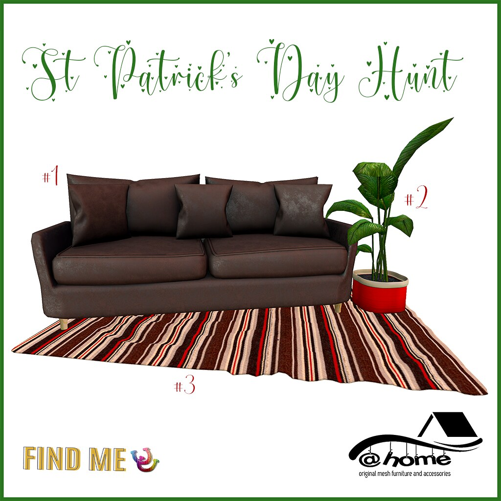 @home – St Patrick's Day Hunt – Fabulously Free in SL
