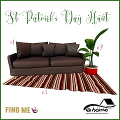 @home - St Patrick's Day Hunt - Fabulously Free in SL