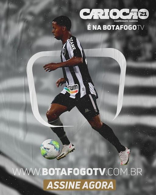 Enio na BotafogoTV