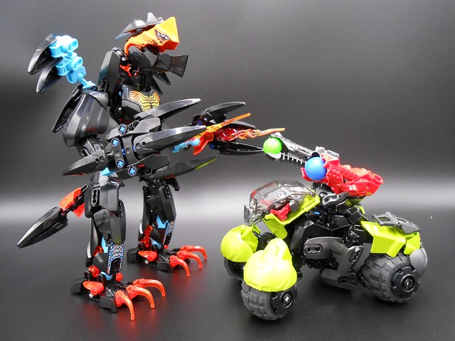BLAZEN Beast vs. SPYRIX Battle Rover