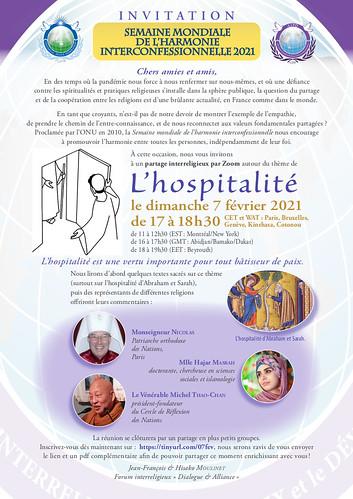 France-2021-02-07-World Interfaith Harmony Week Observed in France