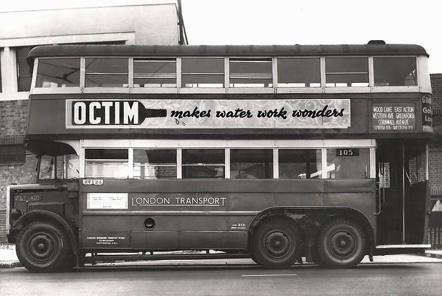 London Transport GX5388 August 1946