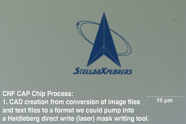 CNF CAP Chip Process