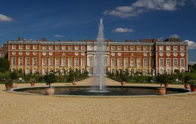 Hampton Court Palace, England.
