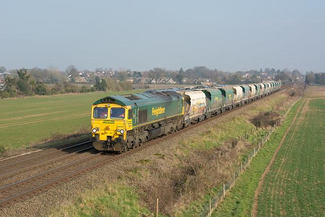 66541 Thurston 02/03/21 - 6Z45 1215 Barham Fhh to Melton Mowbray Down Loop