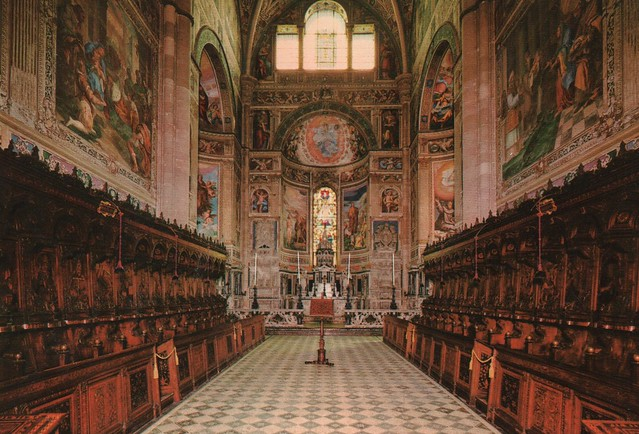 Italy - Pavia (The Certosa di Pavia - Monastery and complex in Lombardy)