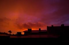 African like sunset in Radzionkow