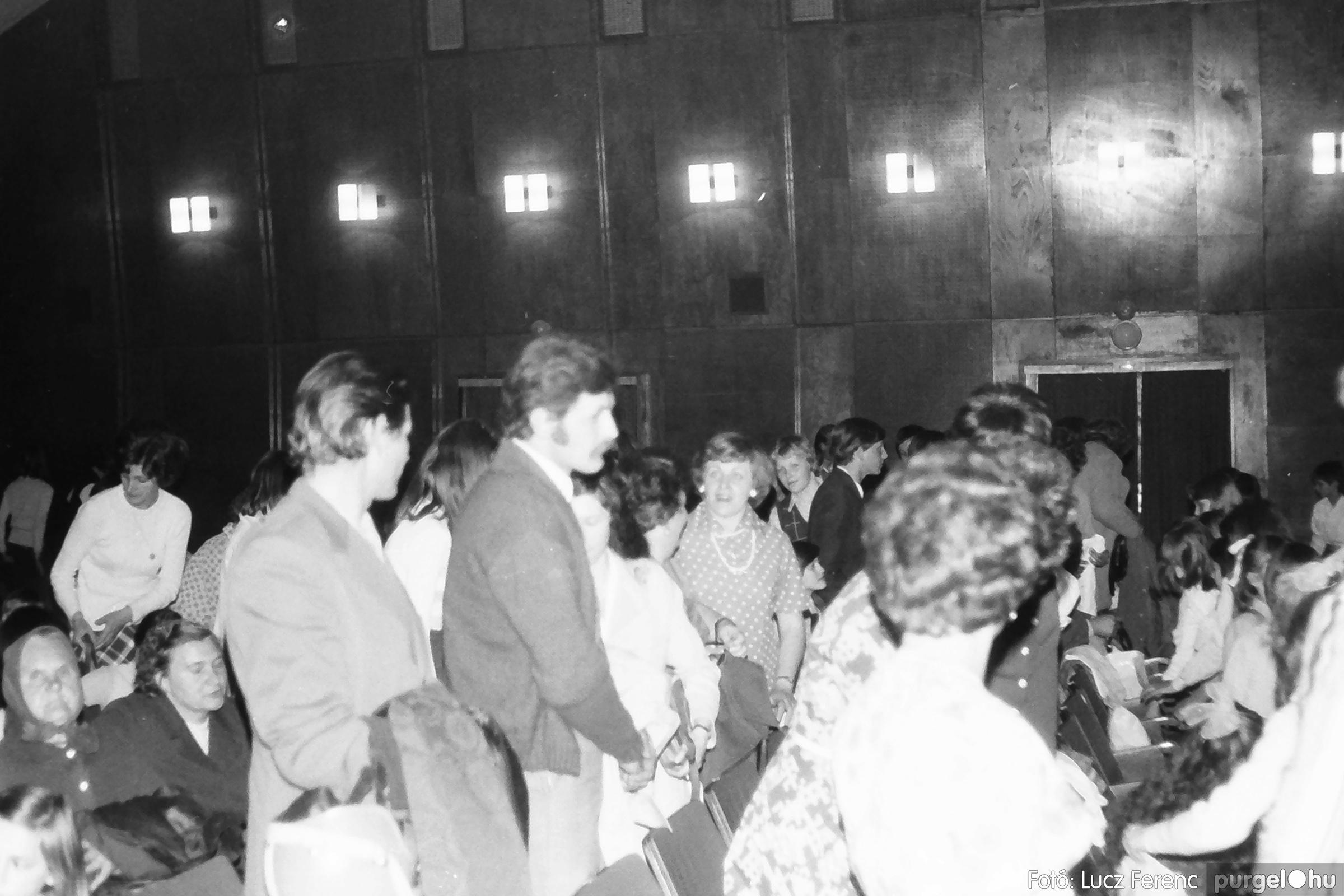 077. 1977. Kulturális seregszemle Mindszenten 013. - Fotó: Lucz Ferenc.jpg