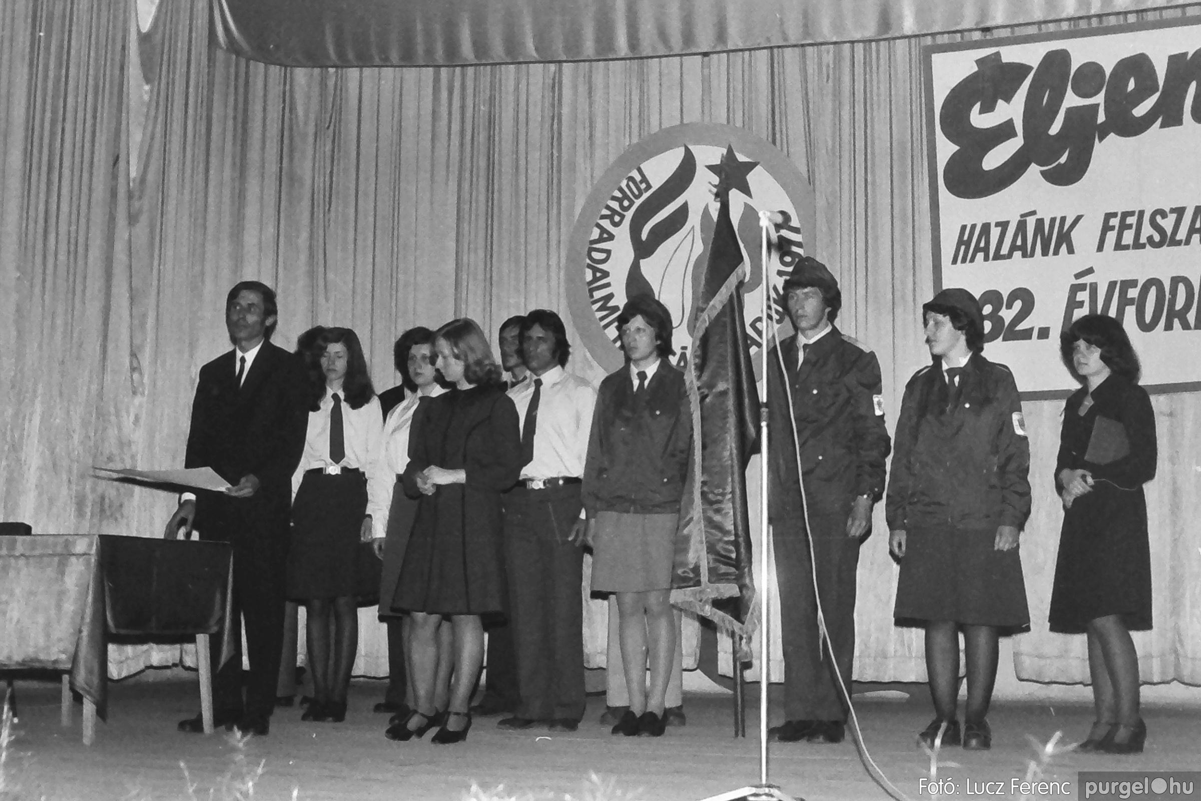 078. 1977.04.04. Április 4-i ünnepség 030. - Fotó: Lucz Ferenc.jpg