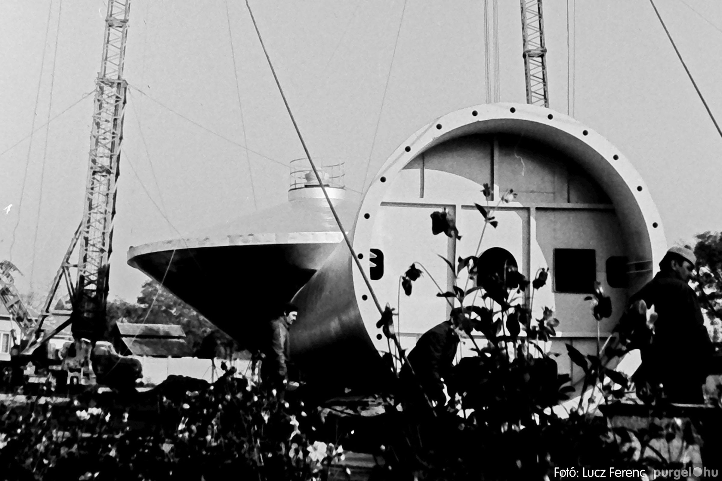 122A. 1978. Épül a víztorony 014. - Fotó: Lucz Ferenc.jpg