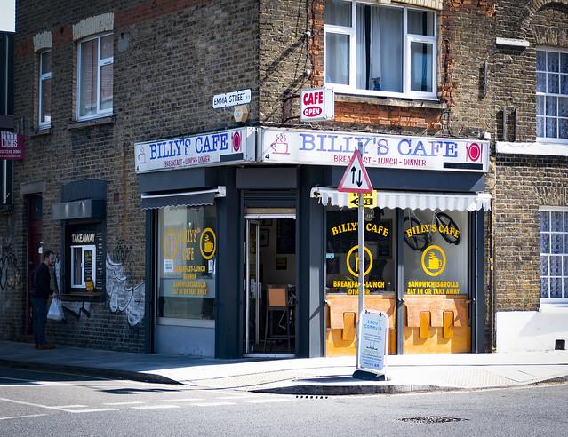 Billy's Cafe, Cambridge Heath