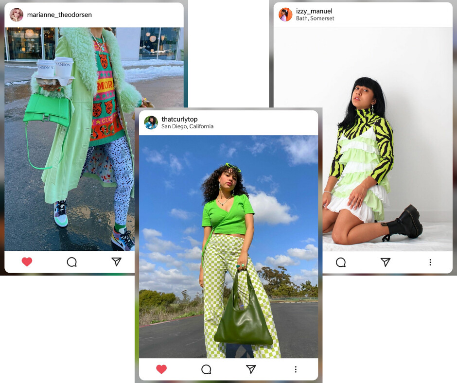 Green Outfits - Instagram 2