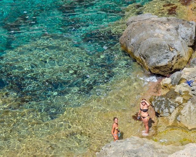 Playa del Atlantis en Ibiza