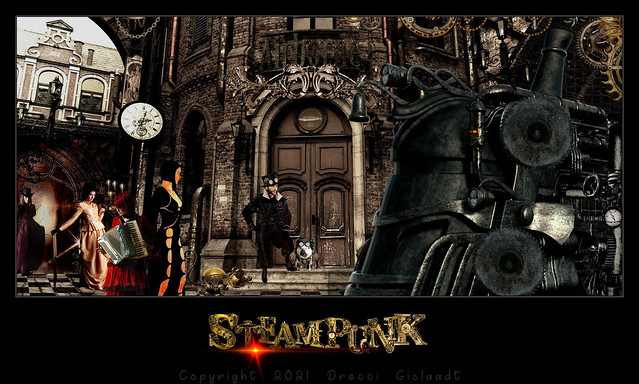 STEAMPUNK by Gislaadt