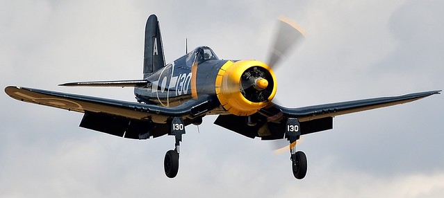 Goodyear FG-1D Corsair KD345 130-A G-FGID US Navy BuNo 88297  Royal Navy KD345