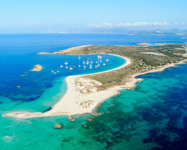 Uno de los lugares que ver desde Ibiza