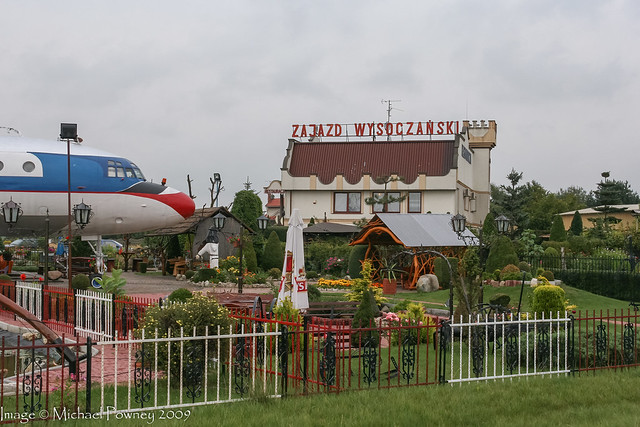 SP-LSD - 1964 build Ilyushin IL-18V, withdrawn from use by 1990 and now used as a Restaurant
