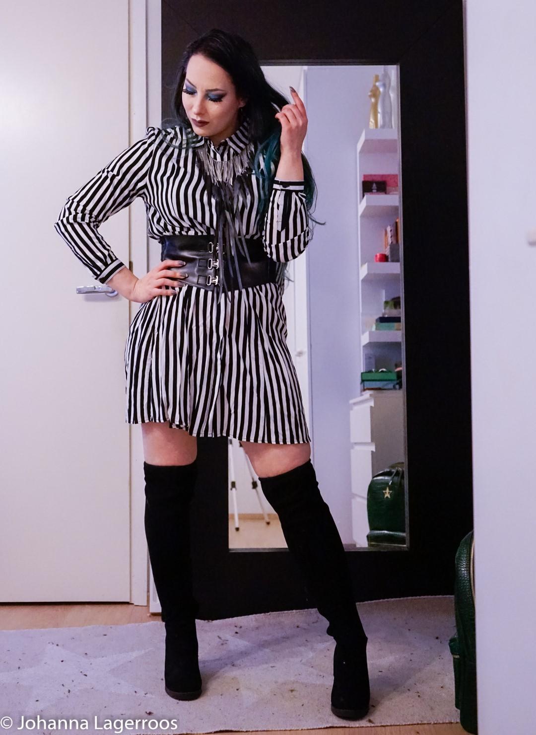 bold stripes look