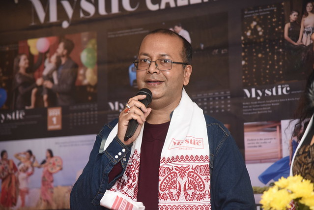 Launching of Mystic Aura Magazine -Prasantt Ghosh