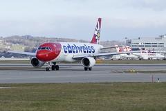 Airbus A320-200 Edelweiss HB-JJL ZRH Zurich Airport Switzerland