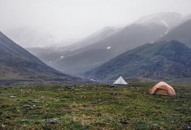 Backpacking Tents in the Brooks Range