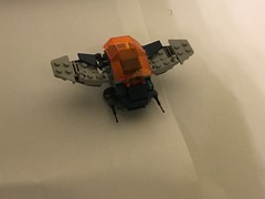 Mini space ship