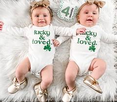 Lucky & Loved ~ We Found Our Twin Pot of Gold u2618ufe0fud83cudf40u2618ufe0f