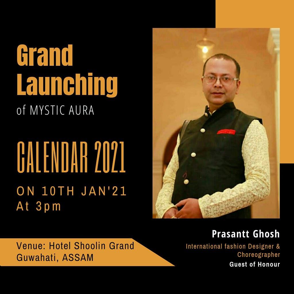 Launching of Mystic Aura Magazine -Prasantt Ghosh