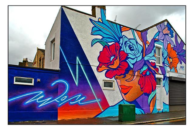 LONDON STREET ART by NERONE