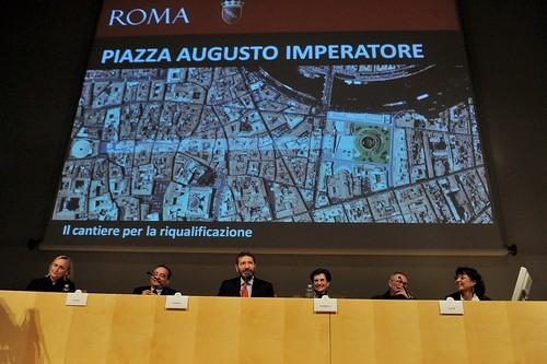 ROMA ARCHEOLOGICA & RESTAURO ARCHITETTURA 2021. ROMA - Augusto, il pozzo dei tesori. La Rep. (04/07/2008) & ROMA - dopo 14 anni riapre il Mausoleo di Augusto. La Rep. (02/01/2021). S.v., Il Mess. (02/01/2021); V. Raggi & I. Marino (01/03/2021).