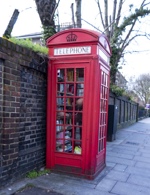 A Library in a Phone Box