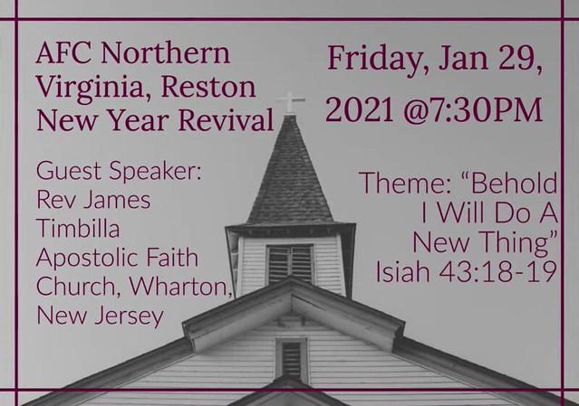 Reston, Virginia, Special Meetings
