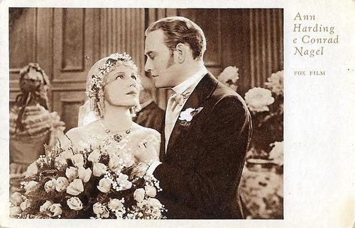 Conrad Nagel and Ann Harding