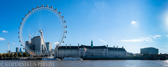 London Eye and River Themse