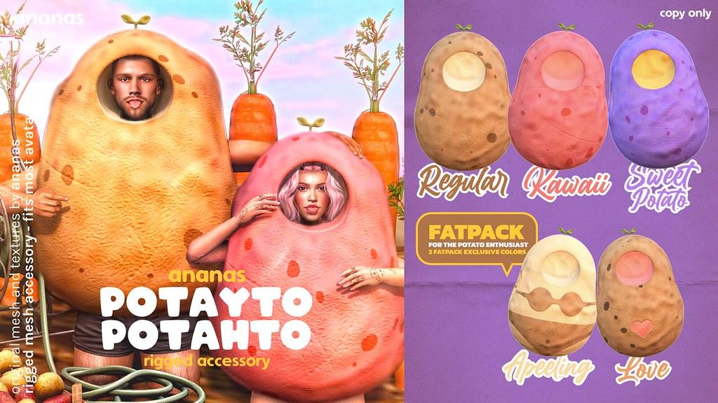 Ananas // Potayto Potatoh @ Anthem Event!