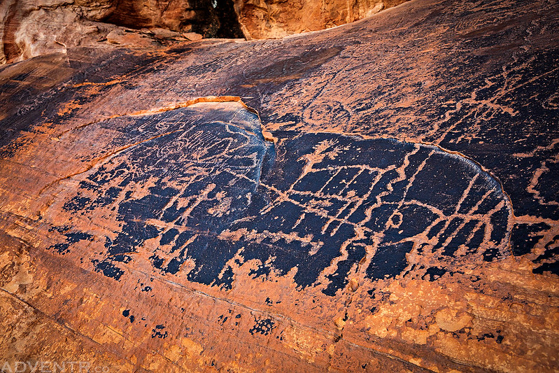 Moose Petroglyph