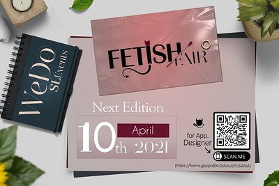 FETISH FAIR (April) | APP Designer is OPEN