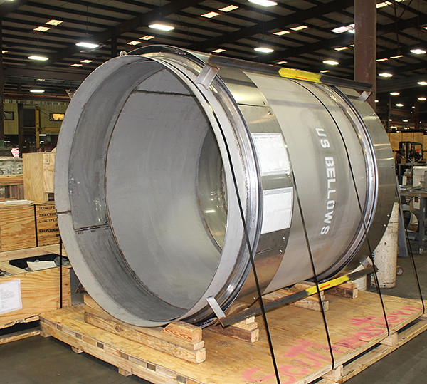 "78"" Dia. Universal Expansion Joint Custom-Designed for One of the Oldest Scientific Innovators in the Engineering Industry"