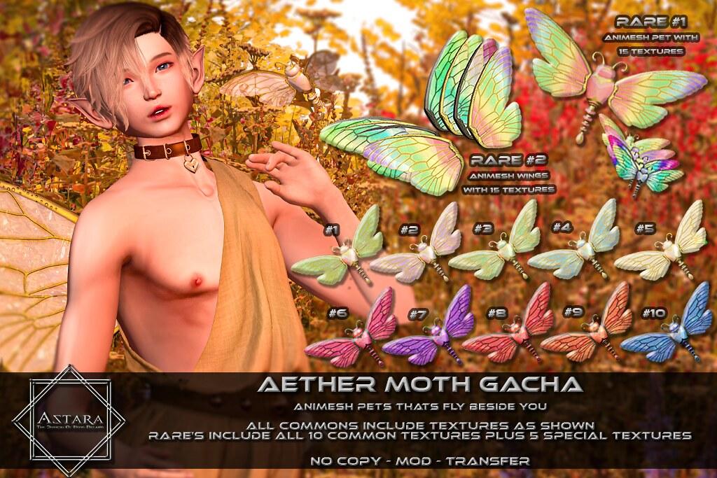 Astara – Aether Moth Gacha