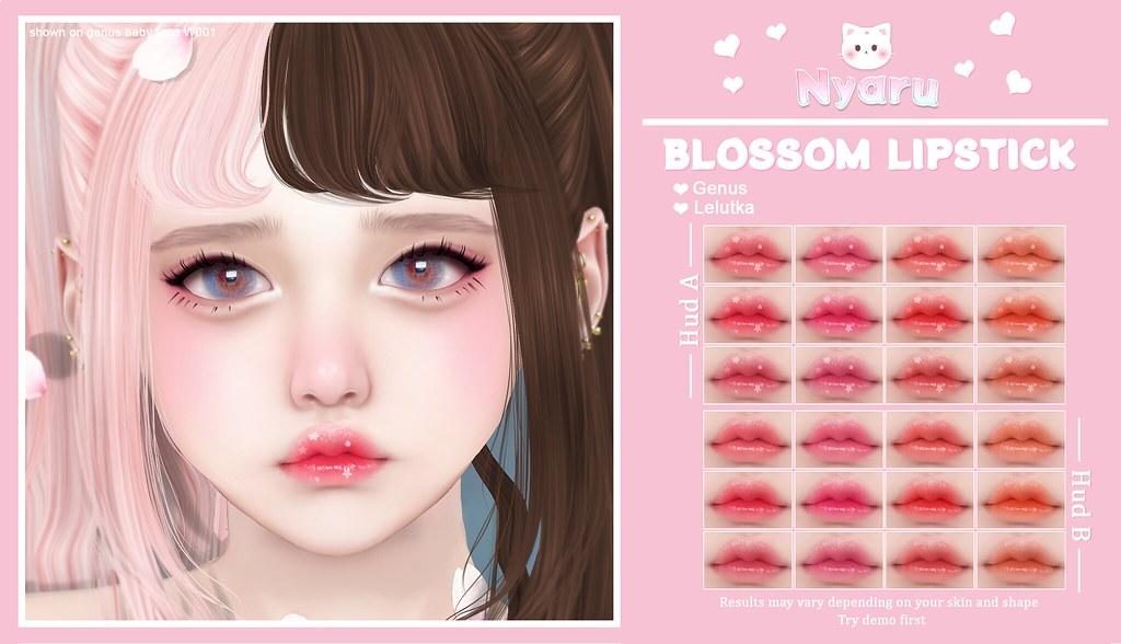 Nyaru - Blossom Lipstick ♡ SAKURA MATSURI