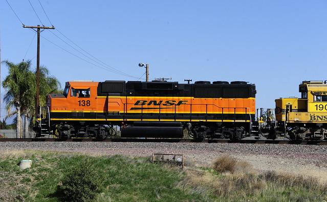 BNSF138 GP60M