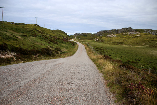 The road to Tarbet
