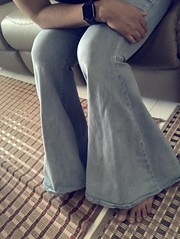 Bellbottoms and toes