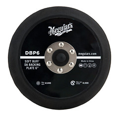 Meguiar's Soft Buff Backing Plate 6'' for Dual Action Polisher