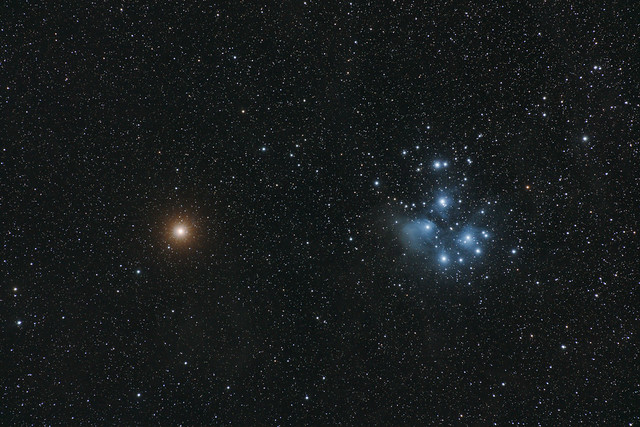 The Mars-Pleiades Conjunction