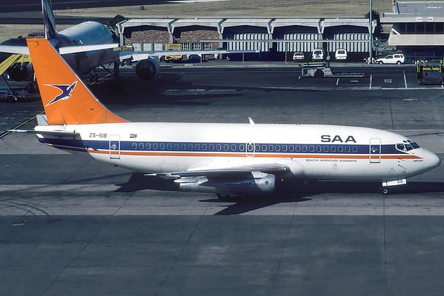 ZS-SIB B732 SAA JNB