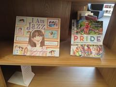Christchurch Pride book display, Tūranga