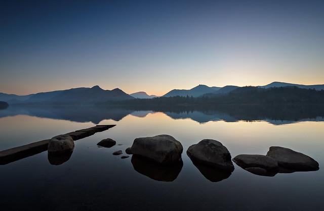 Calm Derwentwater